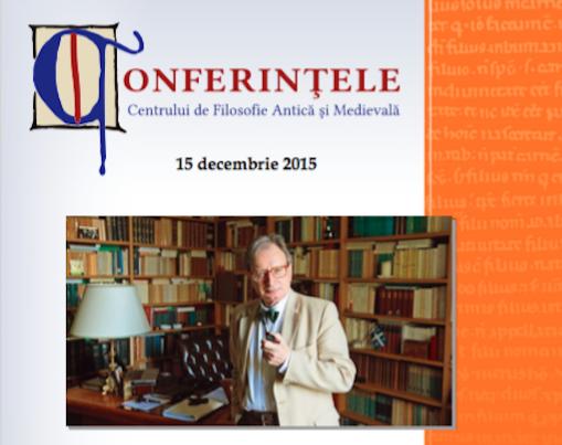 Conferință despre Jean-Luc Marion